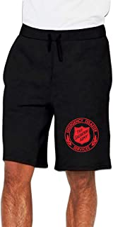 The Salvation Army Mens Casual Jogger Gym Workout Joggers Short Pants