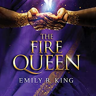 The Fire Queen audiobook cover art