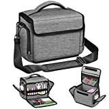 FINPAC Portable Carrying Bag for Cricut Joy, Storage Organizer Tote Bag, Carrying Case with Supplies Storage Sections for Pens, Tool Sets, Craft Accessories