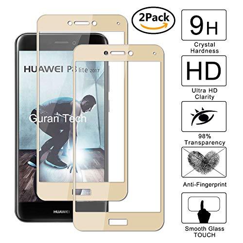 Guran [2 Paquete] Protector de Pantalla para Huawei P8 Lite 2017 /...