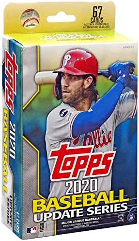 2020 Topps Update Series 3 MLB Baseball Factory Sealed Hanger Pack Box 67 Cards in All Chase product image