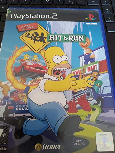 The Simpsons Hit & Run-(Ps2)