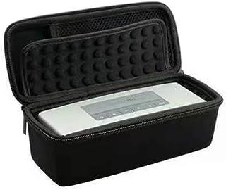 ACHICOO Etui en Silicone Portable pour Bose SoundLink Mini 1 2 Sound Link I II Bluetooth Housse Protecteur Cover Skin Box Haut-parleurs Poche Sac Rouge