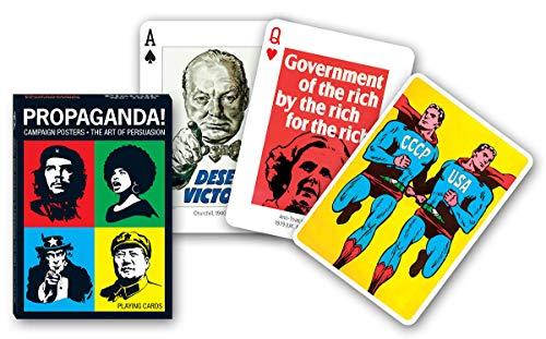 Piatnik Propaganda! Campaign Posters - The Art of Persuassion Playing Cards baraja Poker