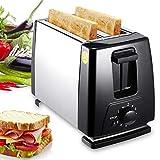 JIAOAOO 2-Slice Toaster,Stainless Steel Toast Heater, for Toast, Donut