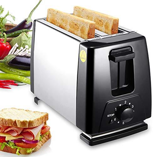 Tostadora automática FreeLeben con 6 Mode-T02, tostadora automática para hacer sándwiches rápidamente [Certificazione Ce]
