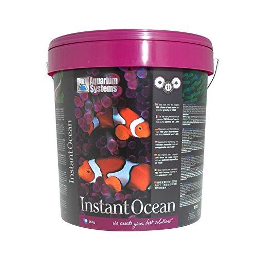 Aquarium Systems 1010006 - Sal Marina instantánea para acuarios, 25 kg