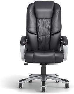 KEKEYANG Silla de Oficina Silla giratoria de oficina Sillas de oficina Gestor de escritorio de computadora Altura del asiento ajustable de cuero de la PU Silla de oficina sillas giratorias ordenador E