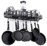 SparkWorks Standard Wall Mounted Pot Rack