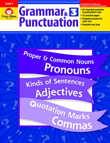 Compare Textbook Prices for Grammar and Punctuation, Grade 3 Teacher ed. Edition ISBN 9781557998477 by Evan Moor,Evan-Moor