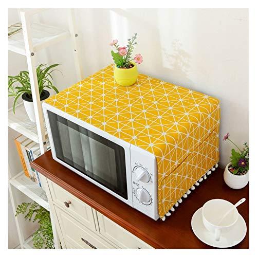 JINAN Housse en lin pour four à micro-ondes - Décoration de la maison