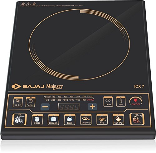 BAJAJJ Induction Cooker ICX-7 with Cooking Pan