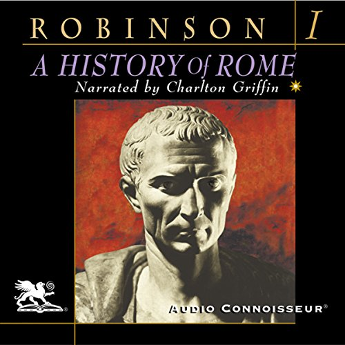 A History of Rome, Volume 1 audiobook cover art