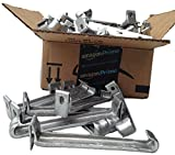 5 inch Raytec Hangtite hidden gutter hangers (25 pack)