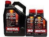 Olio motore MOTUL 8100 X-Cess 5W40 in 7 litri (1 x 5 LTS + 2 x 1 lt)