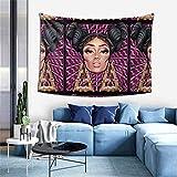 Lawenp Wanddekoration Wall Tapestry Onika-Nicki-Minaj