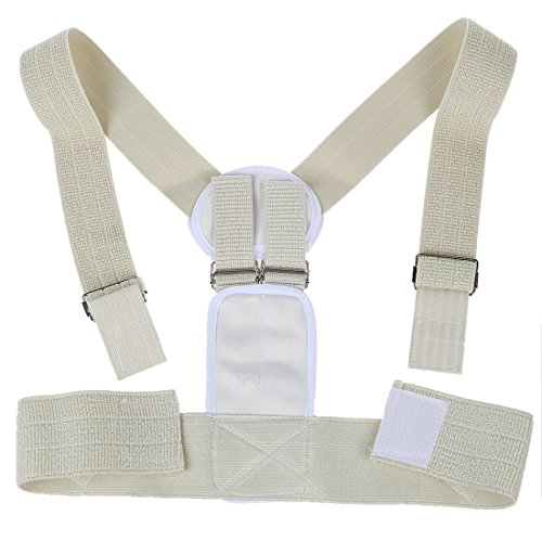 WMA Magnetic Orthopaedic Posture Corrector Back & Shoulder Support Brace Belt Unisex