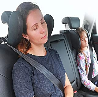Car Headrest Pillow | U Shaped | Support Pillow for Neck Pain Relief | Adjustable for Kids and Adults | Supports Your Head...