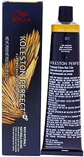Wella Koleston Perfect Permanent Creme Haircolor - 6 1 Dark Blonde-Ash By Wella For Unisex - 2 Oz Hair Co 2 oz