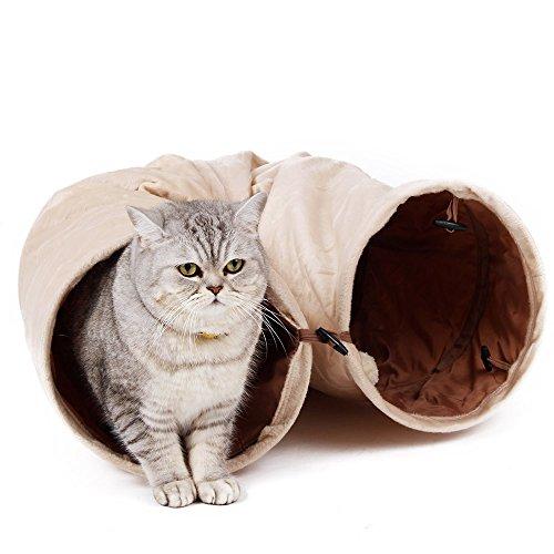 PAWZ Road Túnel De Gato Tubo Plegable con Agujeros Gatito De Juguete para Mascota