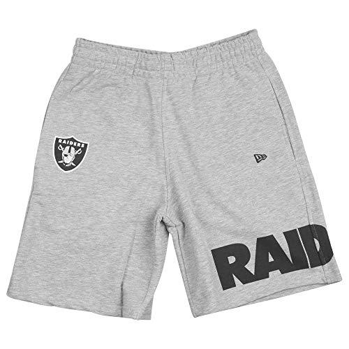 New Era NFL Wrap Around Oakland Raiders Short Herren hellgrau, M