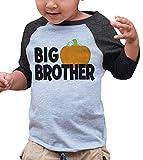 7 ate 9 Apparel Kid's Big Brother Halloween Shirt 3T Grey