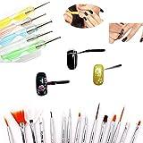 Zoom IMG-1 boolavard 15 pz nail art