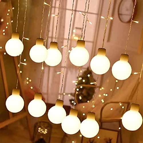 LED Solar Lichterkette Außen  infinitoo 8M (26.24ft)60er Solar Beleuchtung Lichterketten IP65 Wasserdicht Warmweiß, 8 Modi, Fest Deko für Garten Innen Terrasse, Party