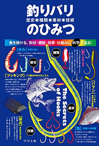 釣りバリ(歴史・種類・素材・技術)のひみつ