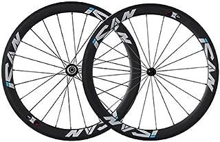 ICAN 50mm 700C Carbon Wheelset Road Bike Clincher Rim Brake Only 1510g (Classic Wheelset)