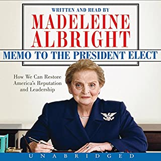 Memo to the President Elect audiobook cover art