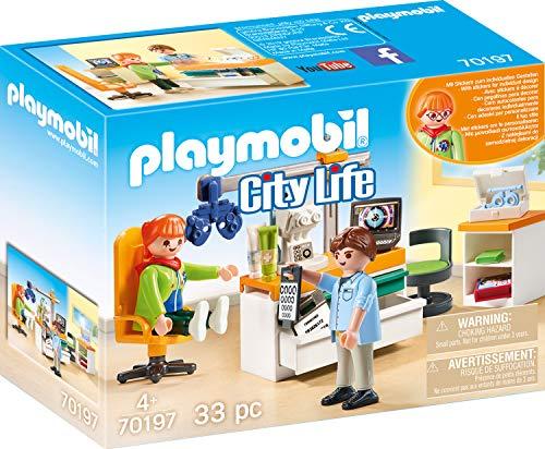 PLAYMOBIL-70197 Playmobil City Life Oftalmólogo
