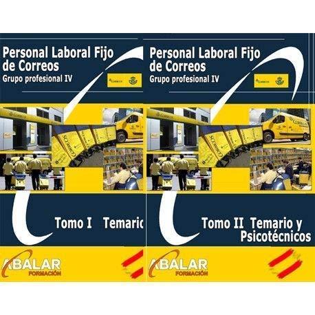 Personal Laboral Fijo Correos - Pack Temario Completo, Resúmenes y Exámenes - Edición Feb 2020 - 2 tomos