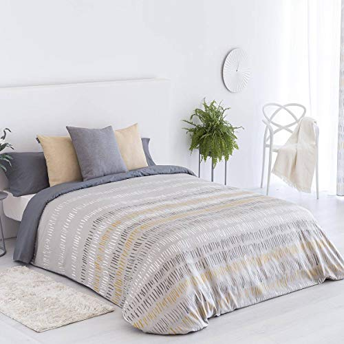 Confections Paula Arona Bettbezug für Betten mit 135 cm, Beige