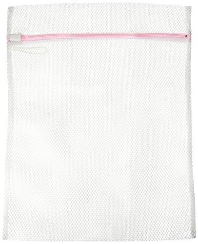 aisen 洗濯ネット 角型 LE211 ホワイト 縦40×横50cm