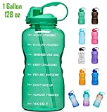 Best Gallon Water Bottles - Giotto Large Gallon Motivational Water Bottle with Time Review
