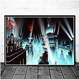 AQgyuh Puzzle 1000 Piezas Rhapsody Videojuego Imagen de Arte Retro Puzzle 1000 Piezas clementoni Gran Ocio vacacional, Juegos interactivos familiares50x75cm(20x30inch)