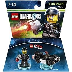 LEGO - Starter Pack Dimensions (Xbox 360) + LEGO Dimensions - Bad Cop: Amazon.es: Videojuegos