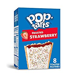 Pop-Tarts, Breakfast Toaster Pastries, Frosted Strawberry, Proudly Baked in the USA, 13.5oz Box (4 C
