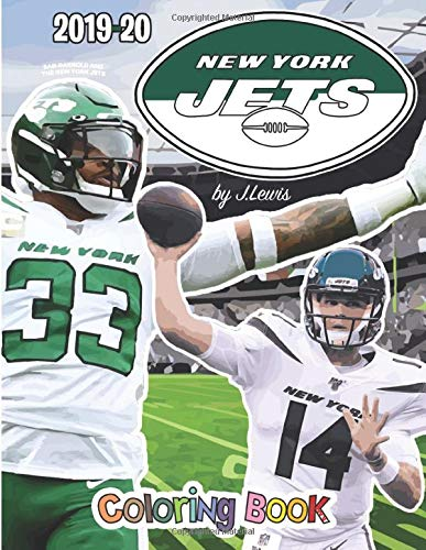 Sam Darnold and the New York Jets: The Football Coloring and Activity Book: 2019-2020 Season