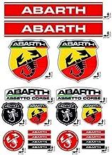 Adesivi stickers kit ducati corse logo pannello intero 24pz offerta motorino