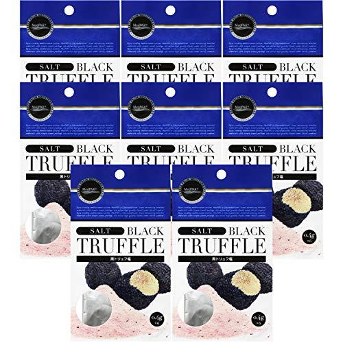 地中海フーズ MedPAX 黒トリュフ塩 2.4g(0.4g×6) ×10個