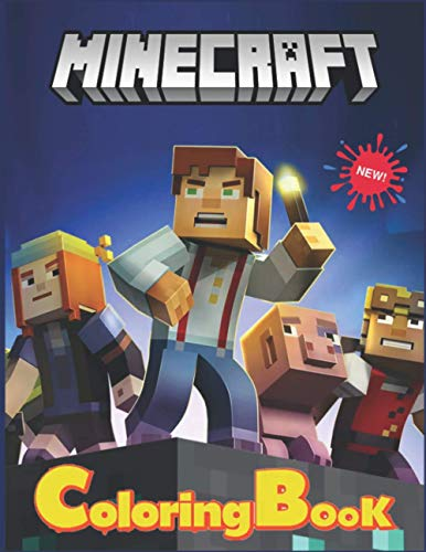 Minecraft Coloring Book: Kids Coloring Books For Minecrafters . Awesome Gift for KIDS