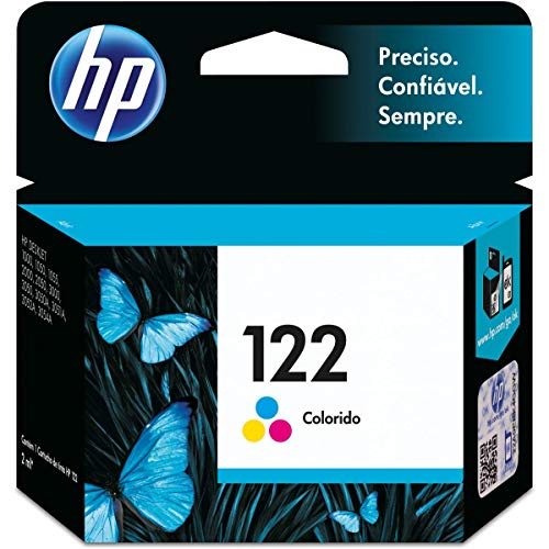 Cartucho HP 122 Colorido Original (CH562HB)