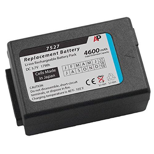 Artisan Power Psion/Teklogix Workabout Pro 7525 & 7527: Batería de capacidad superextendida. 4400 mAh