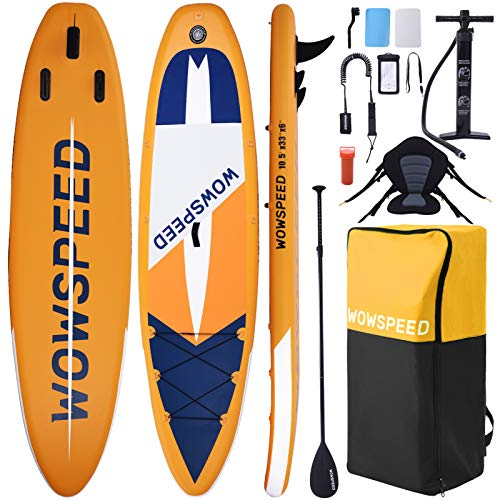 Tablas Paddle Surf,320×84×15cm Tablas De Paddle Surf Hinchable con Asiento,Paddel Surf Hinchable...