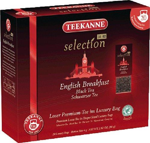 Teekanne Selection 1882 im Luxury Bag - English Breakfast - aromatisch, feinherb, 20 Portionen, 1er Pack (1 x 80 g)
