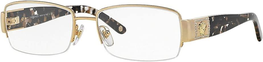 Versace VE1175B Eyeglasses-1002 Gold-53mm