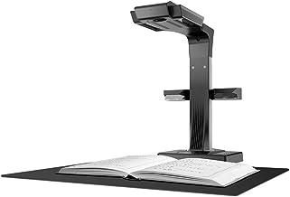 CZUR ET18 Pro Escáner Profesional Portátil con Smart OCR de Libros y Documento A4, Compatible con Mac y Windows, MAX A3 Exploración Tamaño, 18MP HD Cámara, Negro