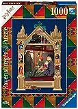Ravensburger Puzzle, Puzzle 1000 Piezas, Harry Potter y el la Piedra Filosofal, Book Edition, Puzzle Harry Potter, Ilustraciones Minalima, Rompecabezas